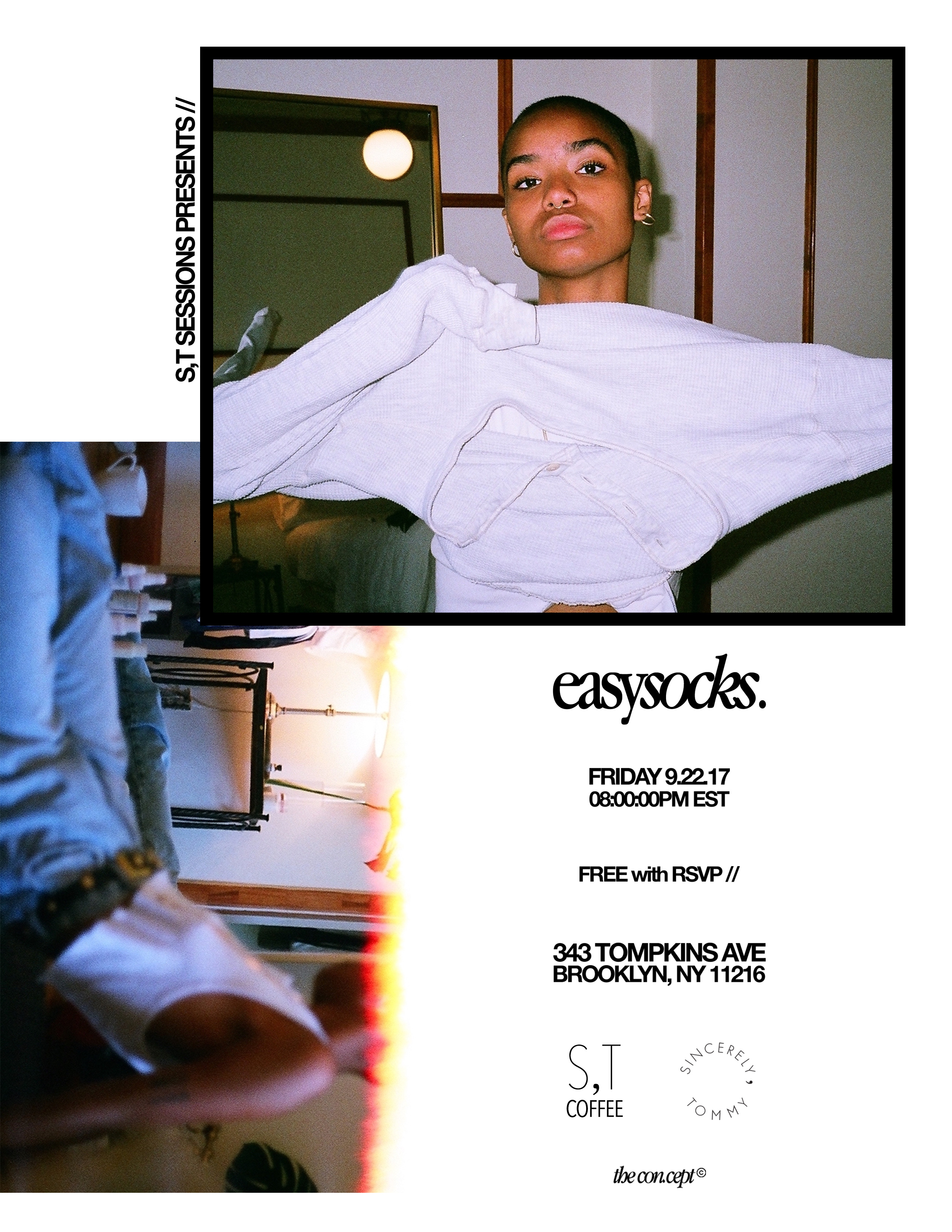 the con•cept Easy Socks Editorial