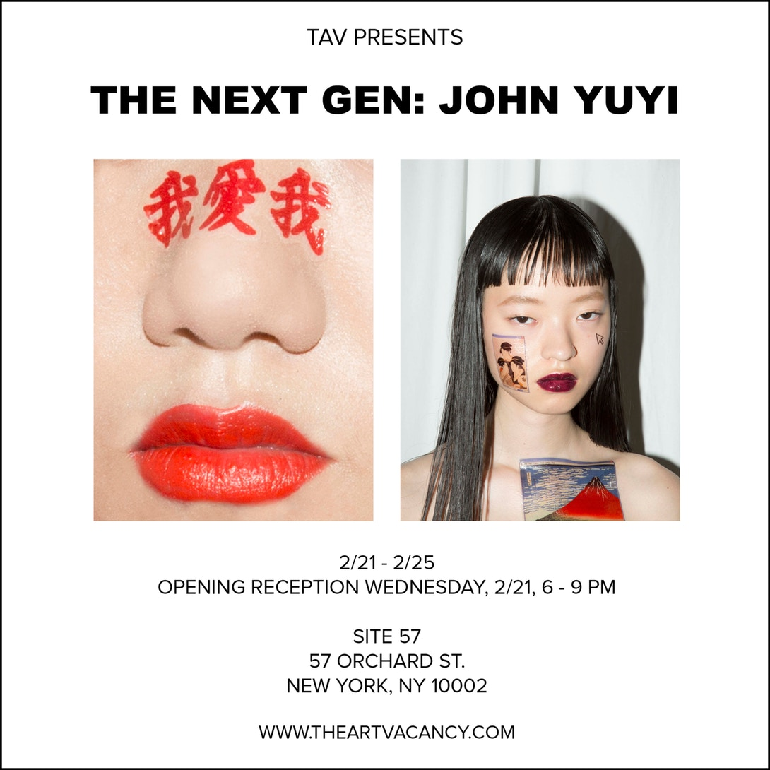 John Yuyi Opens First Solo Exhibition in NYC Gucci Art Temporary Tattoo Meme Campaign